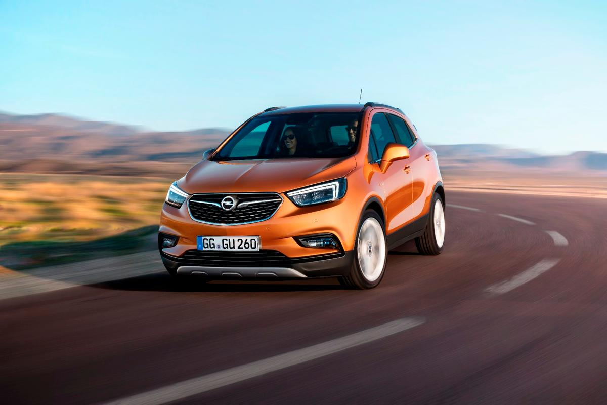 The new Opel Mokka X will debut in Geneva in March