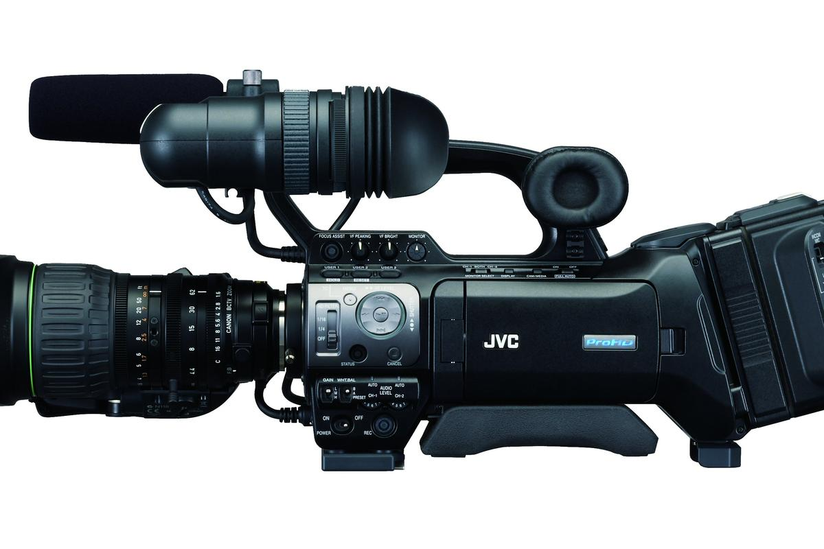 JVC's new ProHD GY-HM790 professional shoulder or studio camcorder