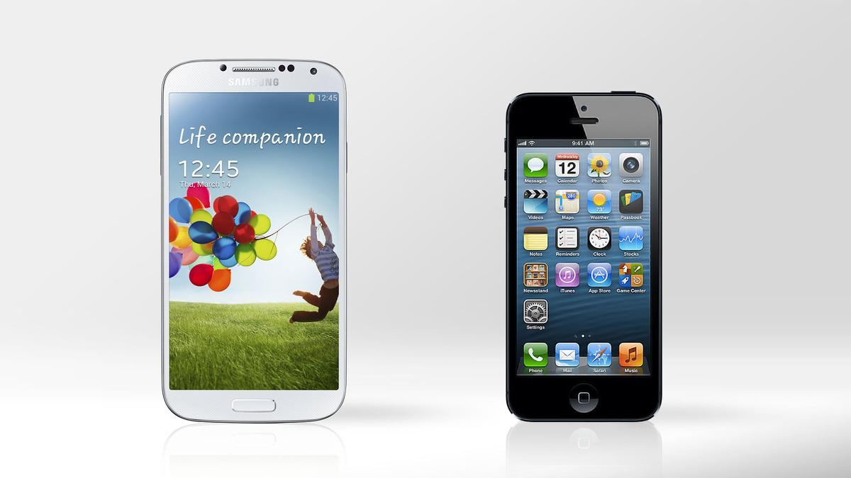 We compare the specs – and other features – of the Samsung Galaxy S4 and iPhone 5