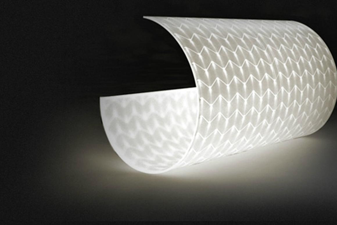 Ikea has invested in LED Design Products to use its flexible LED light tiles