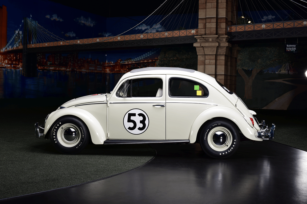 The star of two hit movies and already the most expensive Volkswagen Beetle in history, this 1963 Volkswagen Beetle broke its own world record of $126,500 and further entrenched itself on our list of the most valuable movie cars.