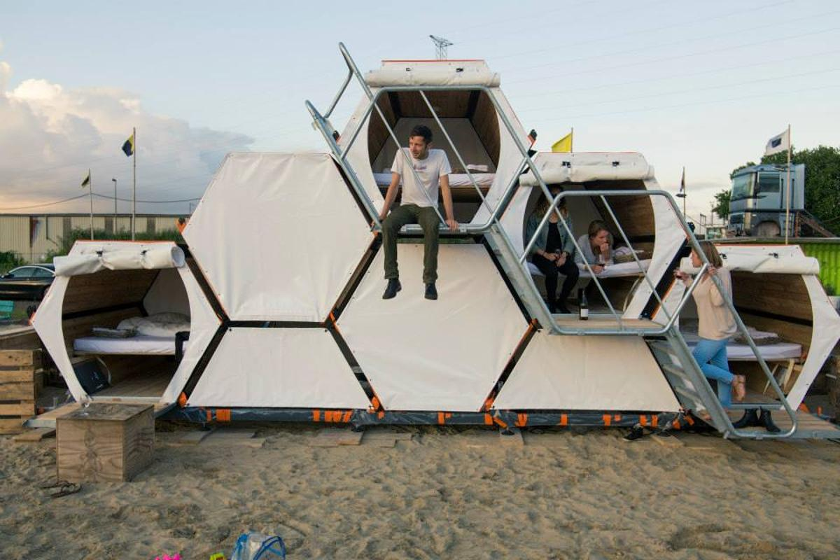 The B-And-Bee, by Belgian company Achilles Design (Photo: B-And-Bee)