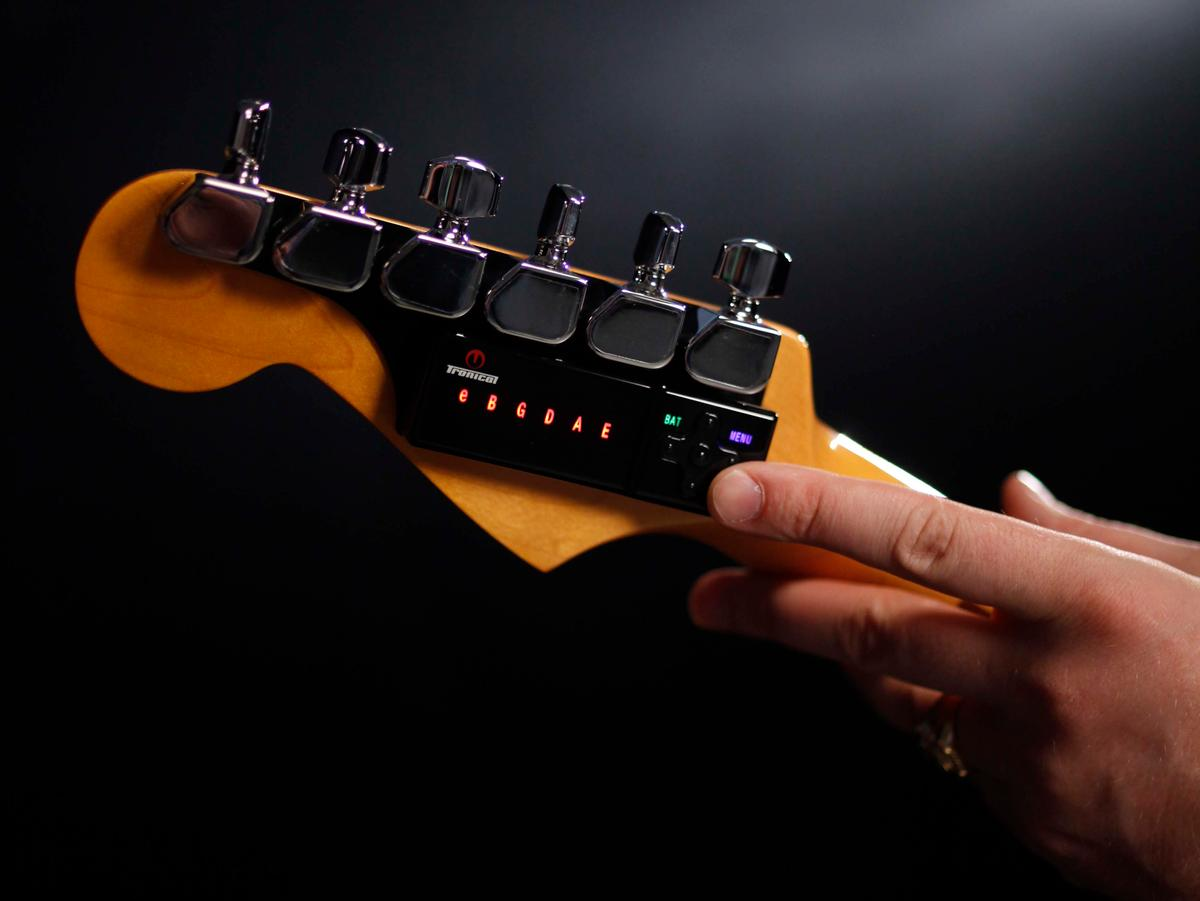 The TronicalTune robot tuning system is not limited to Gibson guitars, it's also compatible with models from Fender, Charvel and Yamaha