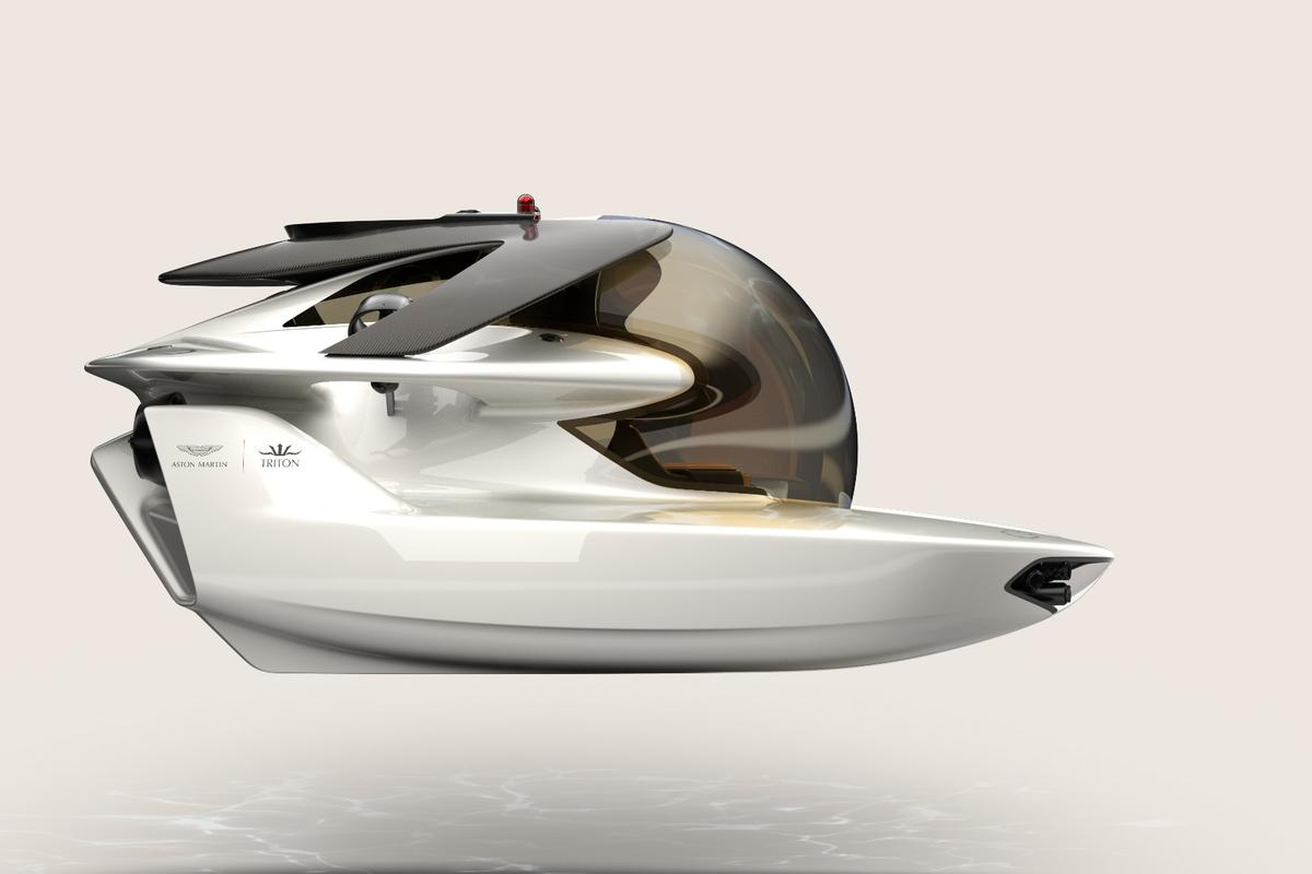 After announcing the joint project last September,Aston Martin and Triton have completed the Project Neptune design