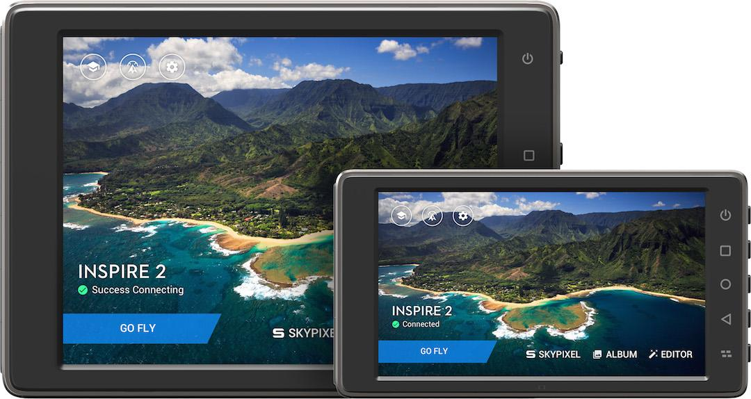 DJI's CrystalSky monitor comes in two sizes: 7.85 inches and 5.5 inches