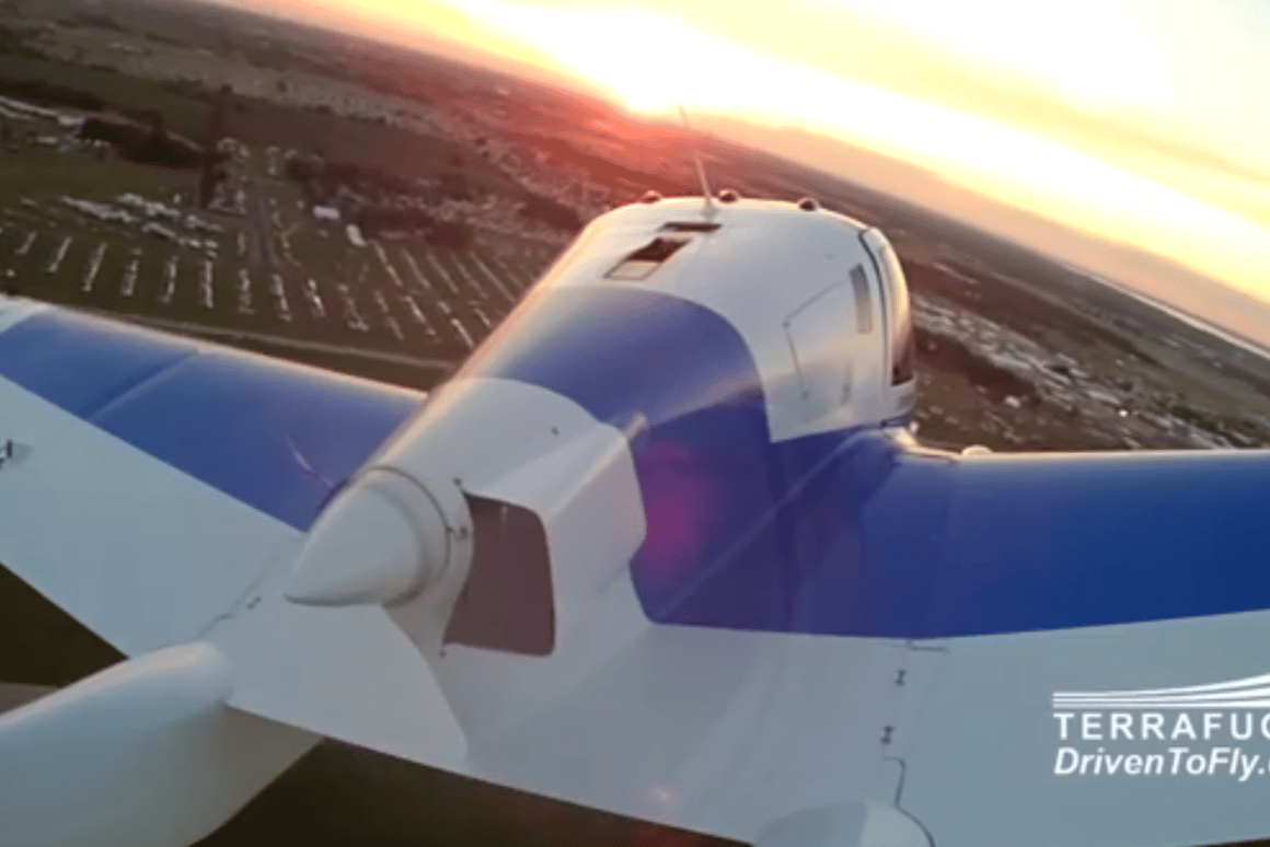 The TerreFugia Transition performed a 20-minute demonstration flight at EAA AirVenture Oshkosh