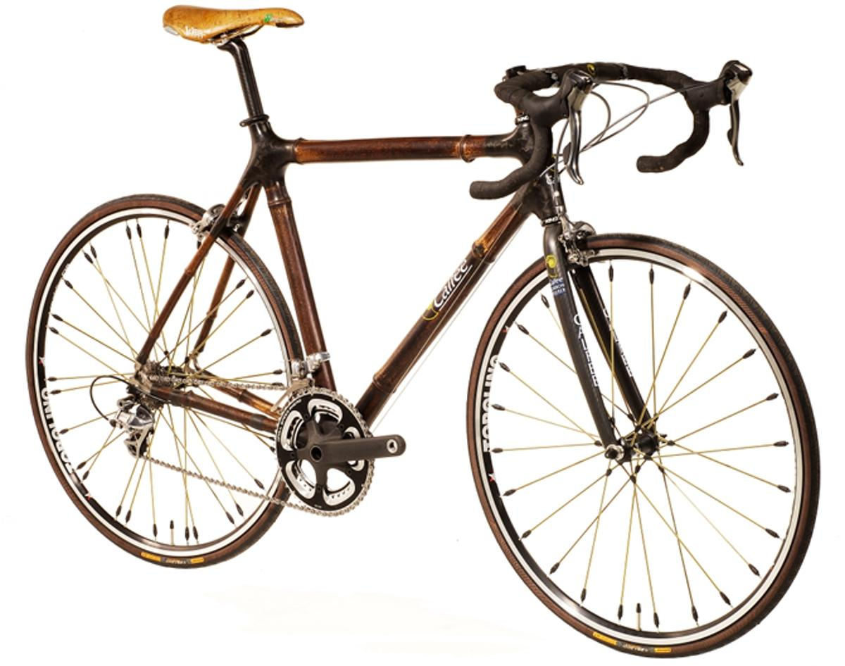 The Calfee Design Bamboo road racing bike