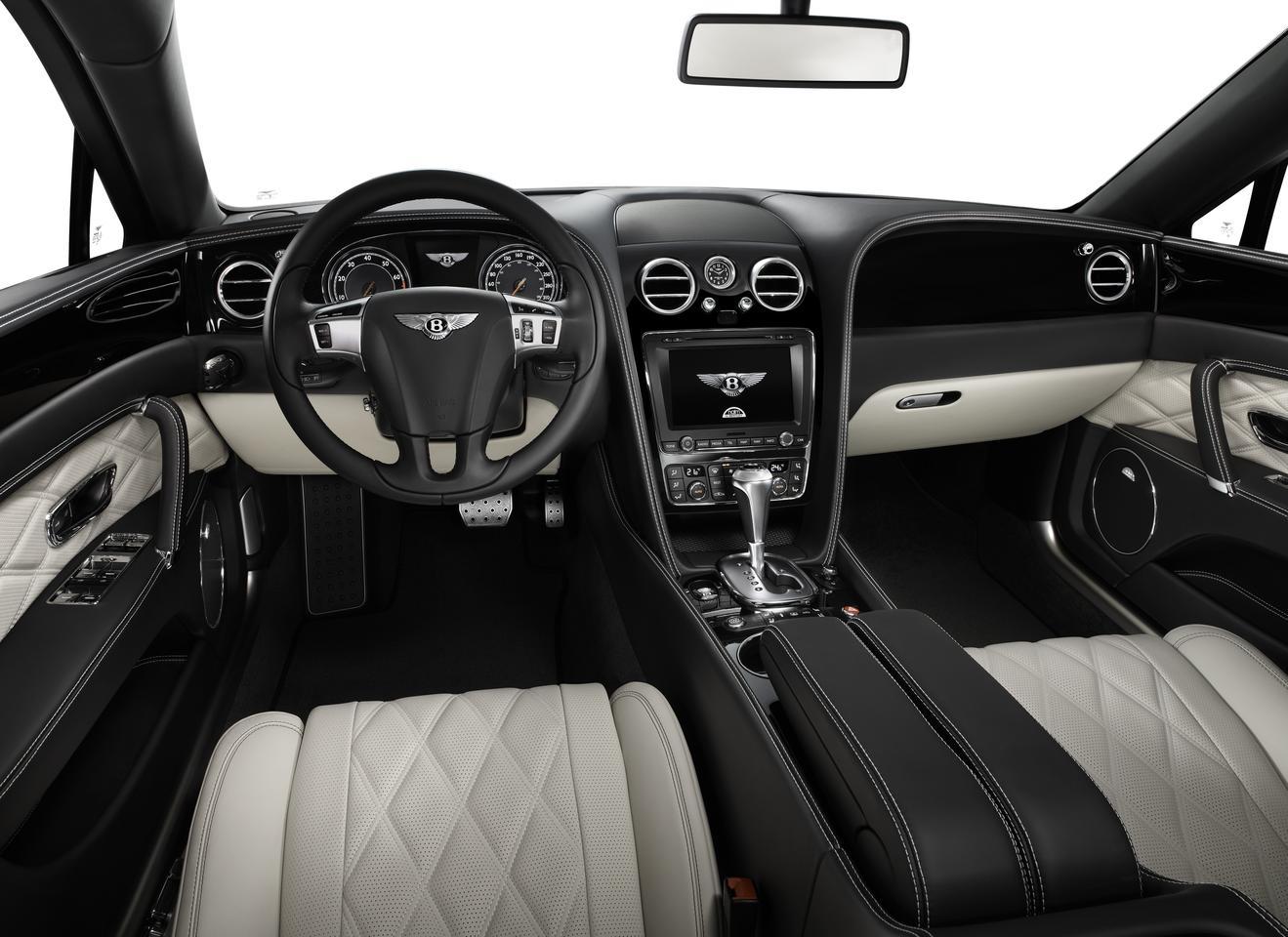 Inside the Bentley Flying Spur V8