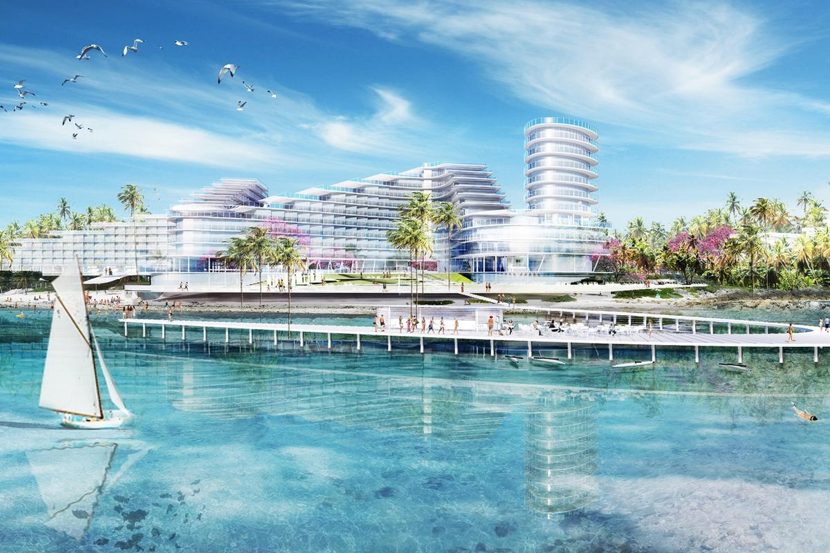 St James Point will cover an area of 16-acres and include a secluded and private natural beach