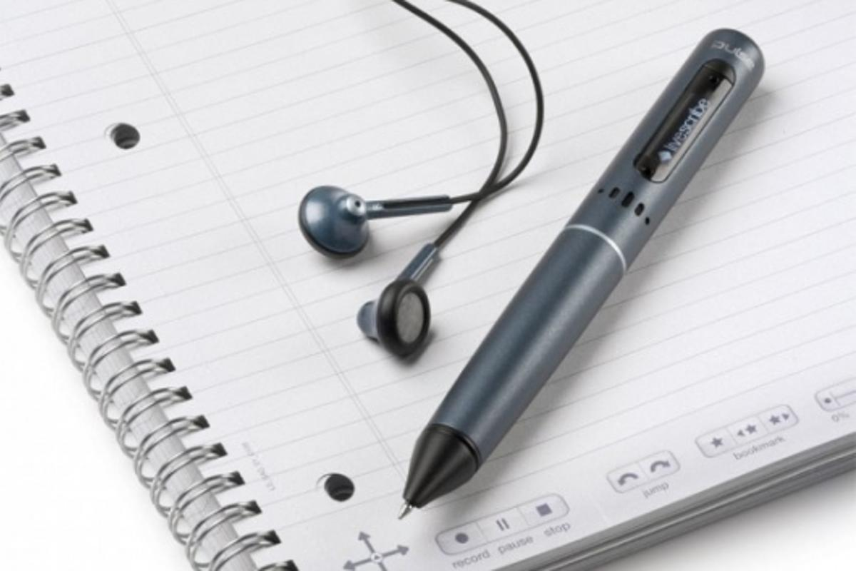 Livescribe Pulse Smartpen, Dot Notebook and 3D Recording Headset