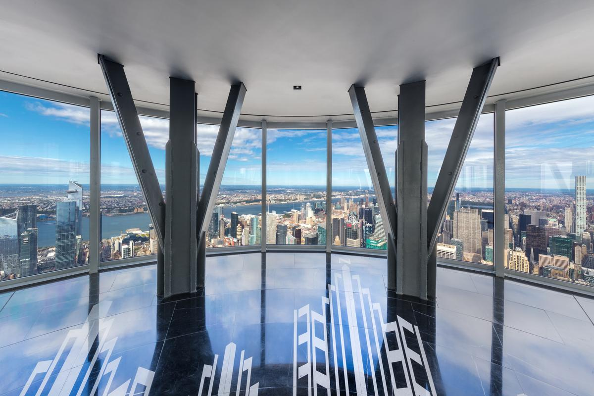 View from the top: the Empire State Building's new 102nd flo observation point
