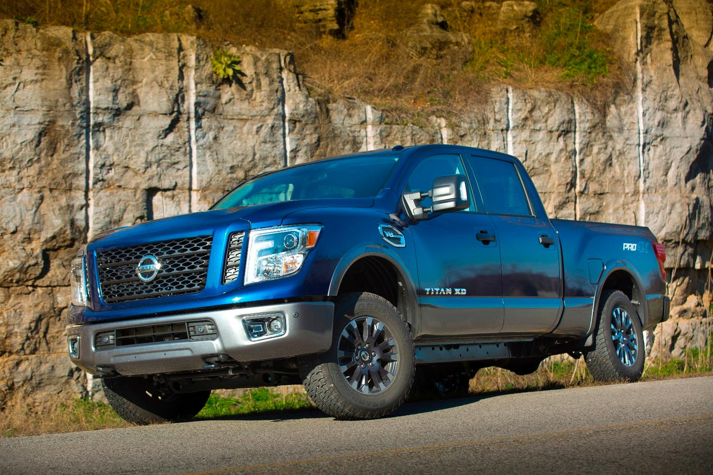 When Nissan unveiled the Titan XD with an eight-cylinder gasoline option as another heavy-duty half-ton option, our eyes widened