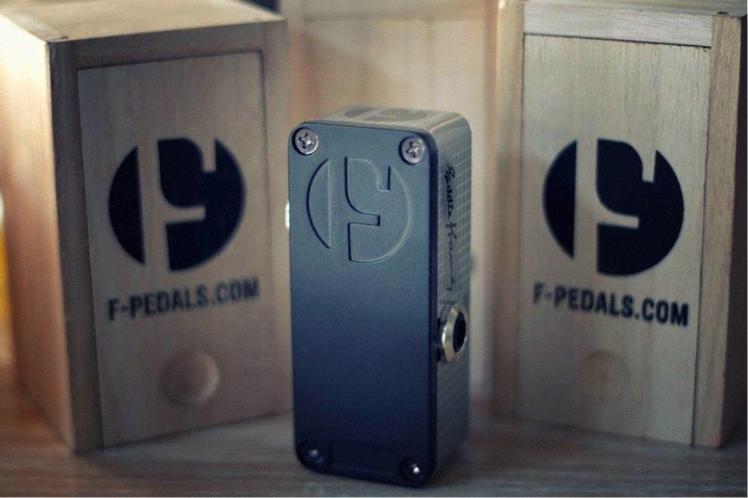 Each F-Pedal will be shipped in a stylish, wine-bottle-style wooden box