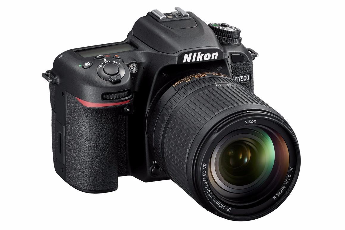 The Nikon D7500 enthusiast-level APS-C DSLR