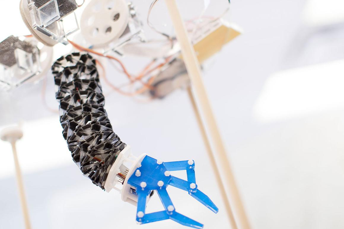 Like all soft robots, this kind of device could offer a safer alternative to its hard-bodied counterparts