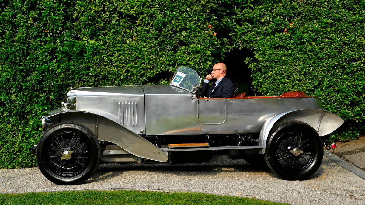 The winner of Class A -Goodbye Roaring Twenties: The Birth Of The Concorso - was this 1925 Vauxhall 30/98 Type OE Boattail Tourer owned by Peter Goodwin (US)