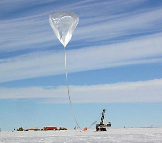 The Cosmic Ray Energetics And Mass (CREAM) payload is launched near NSF's McMurdo Station, Antarctica.