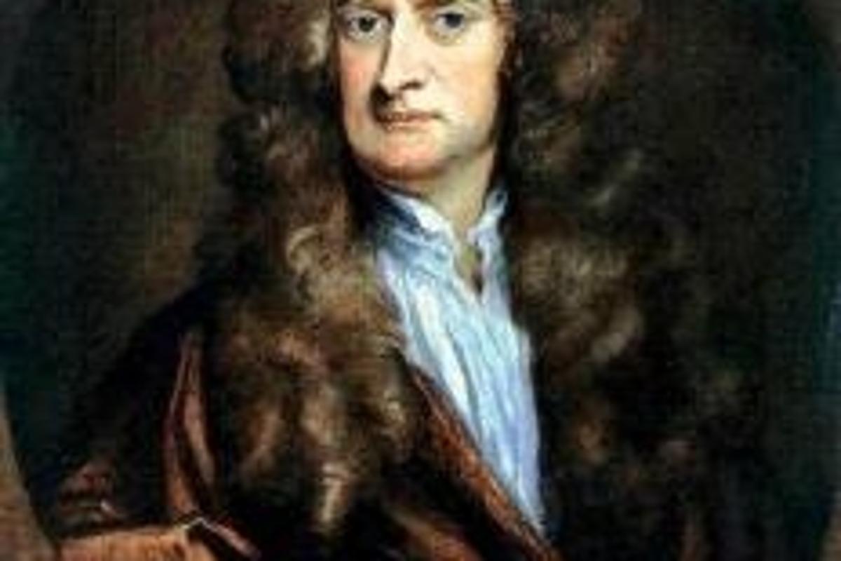 1702 Portrait of Newton by Godfrey Kneller