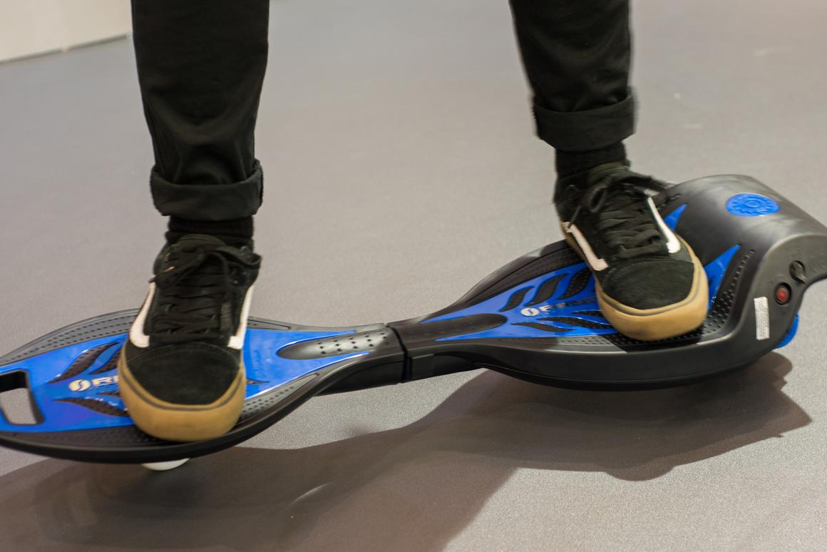 Razor Adds Power With The Ripstik Electric Hands On And