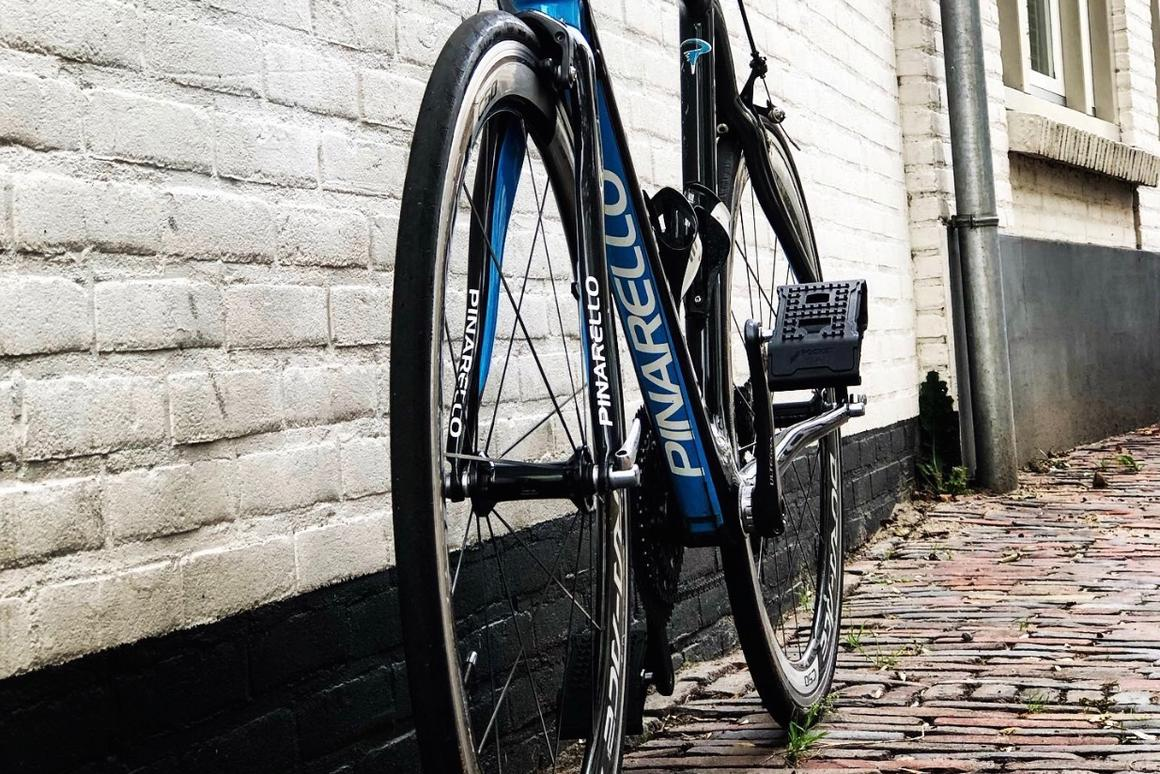 Pocket Pedals are currently compatible with SPD-style road and mountain bike clipless pedals, although other versions are in the works