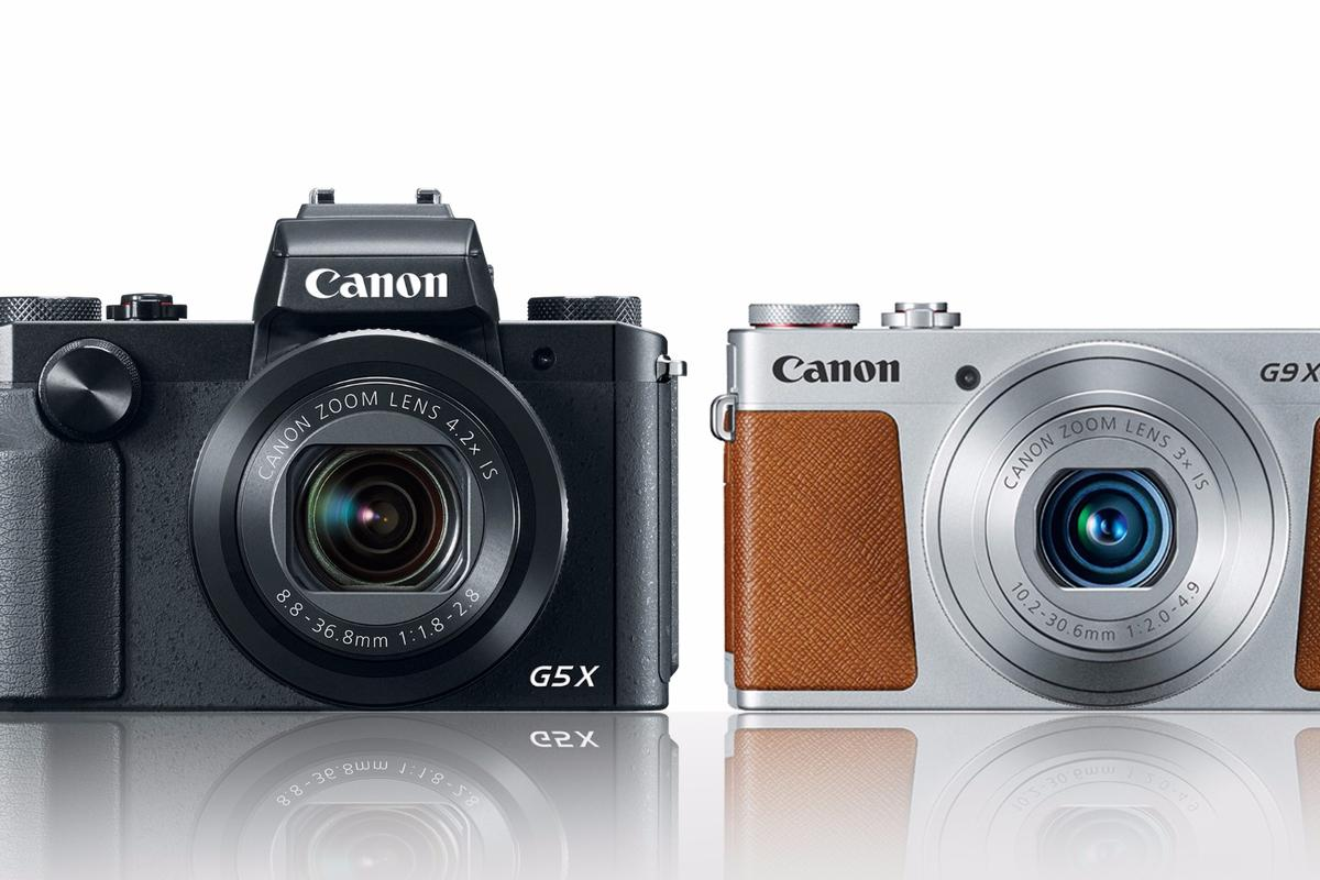 Canon has added the PowerShot G5 X and G9 X its line-up of large sensor compacts