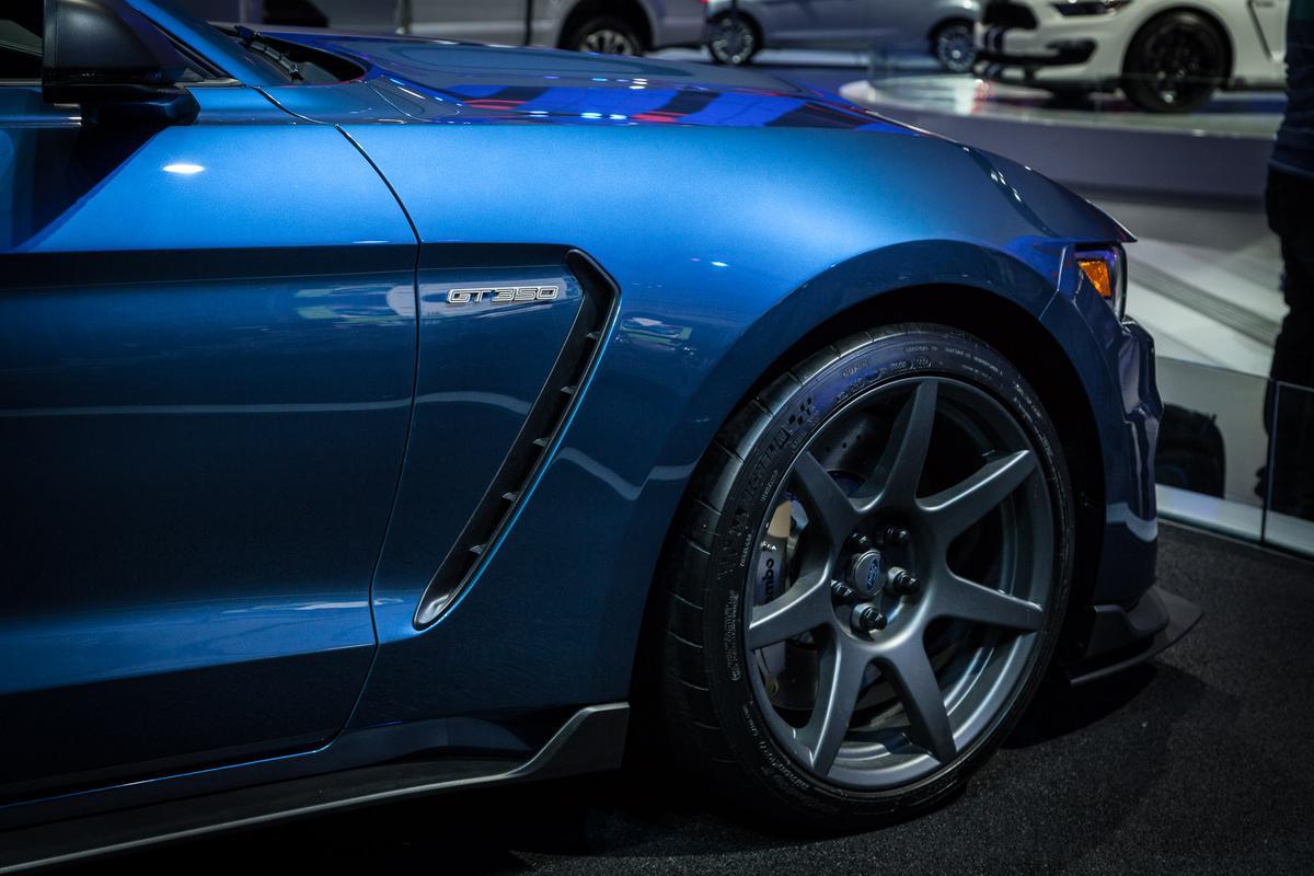 The Ford Shelby GT350R at NAIAS 2015 (Photo: Loz Blain/Gizmag.com)