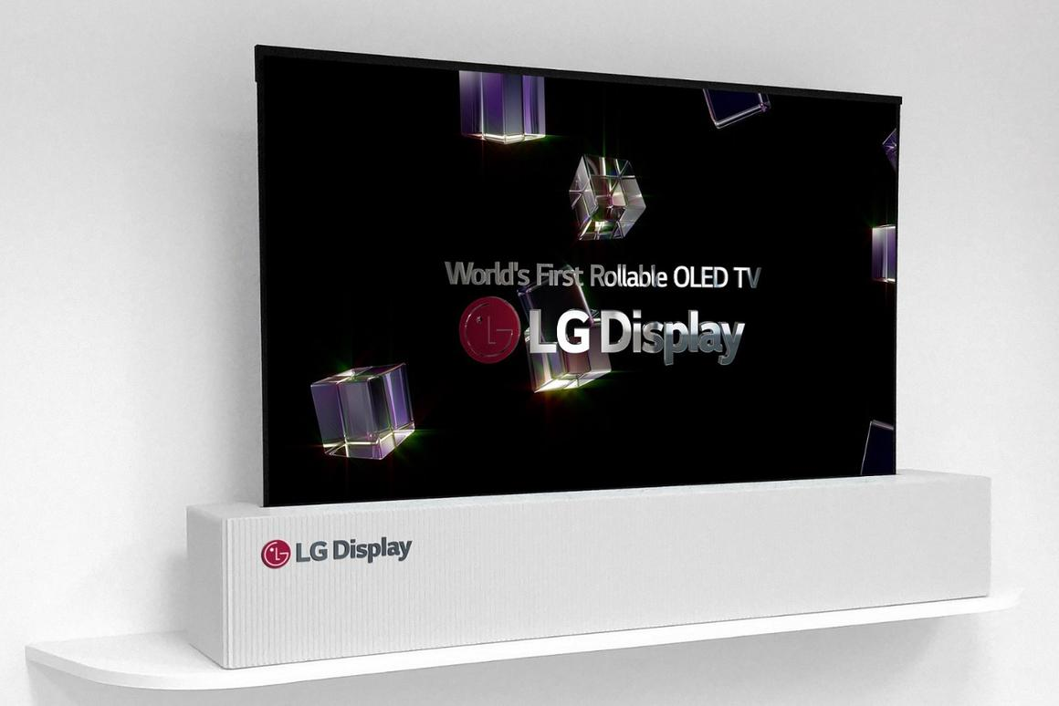 What's in the box? LG unfurls rollable 65-inch OLED TV