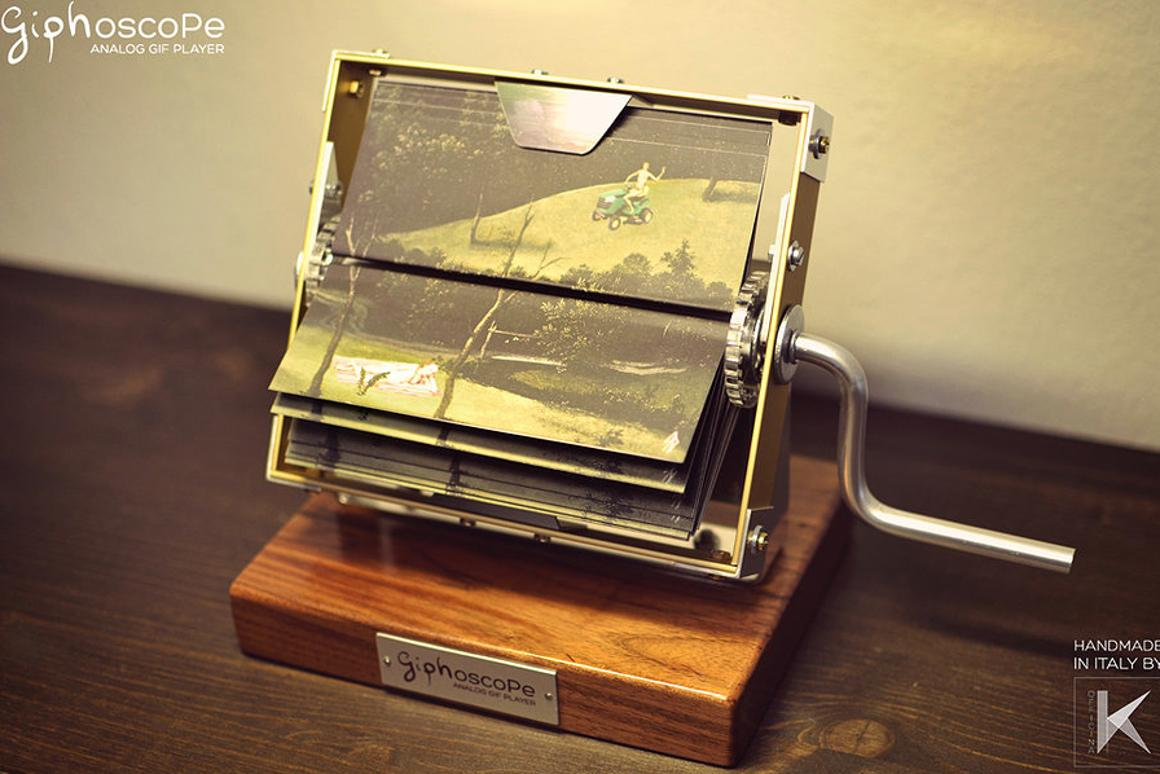 The Giphoscope brings animated GIFs to the physical world