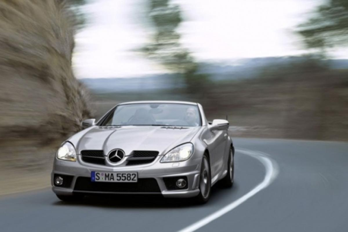 Mercedes-Benz SLK-Class: SLK 55 AMG