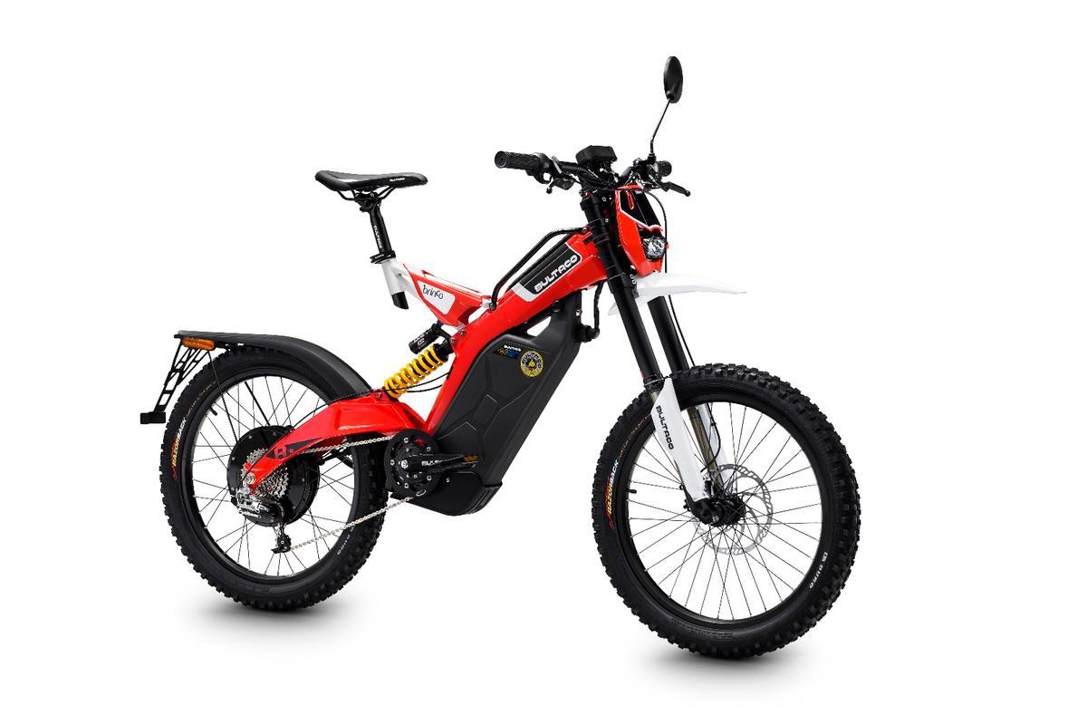 The Brinco R-E is the performance flagship of Bultaco's street lineup