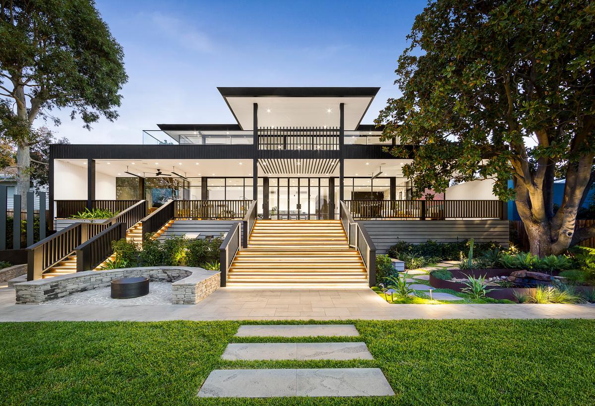 Crestron's display home in Hampton, Australia isa bit impressive