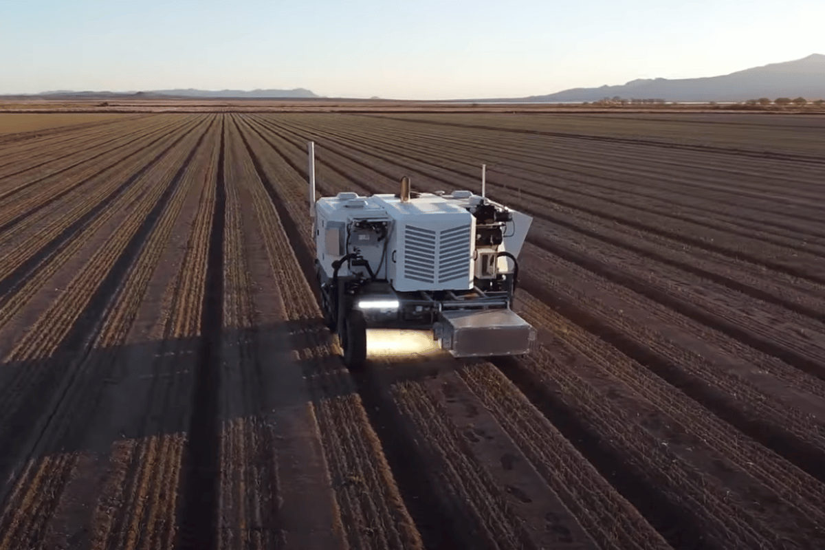 The Autonomous runs on diesel and can operate around the clock