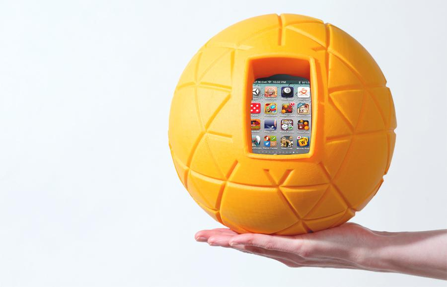 TheO Ball isn't on the market yet, but is expected to be released in May for US$24.95
