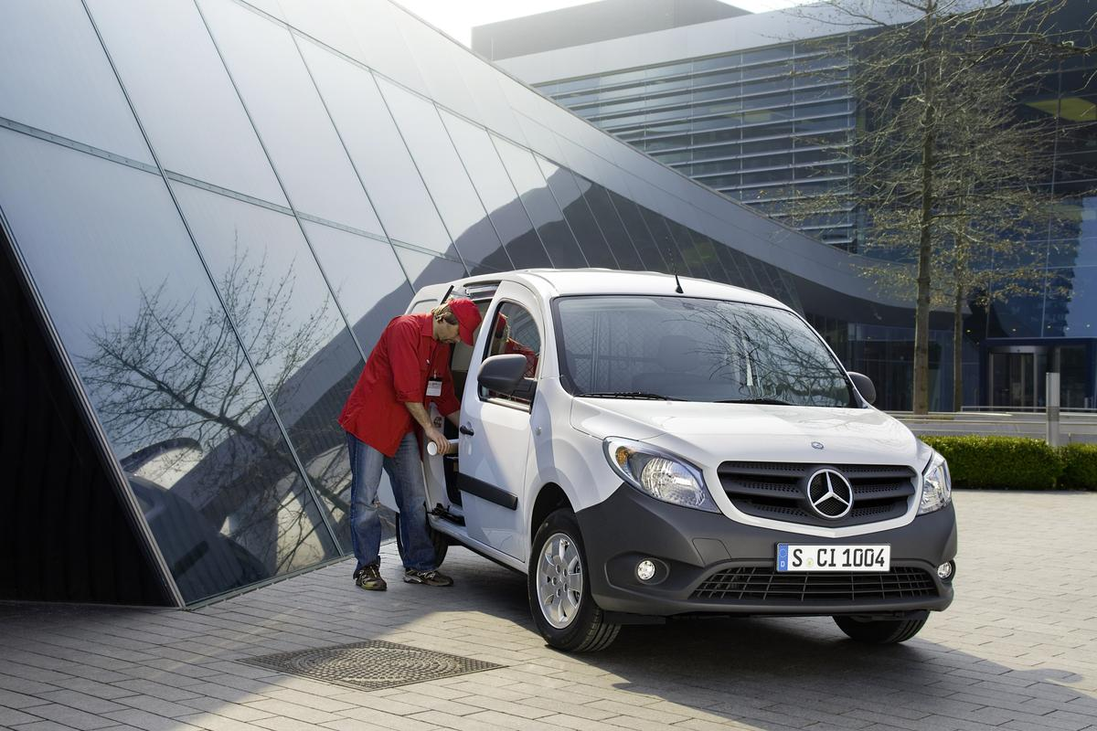 Mercedes-Benz aims to complete its delivery van range with the launch of the urban-oriented Citan