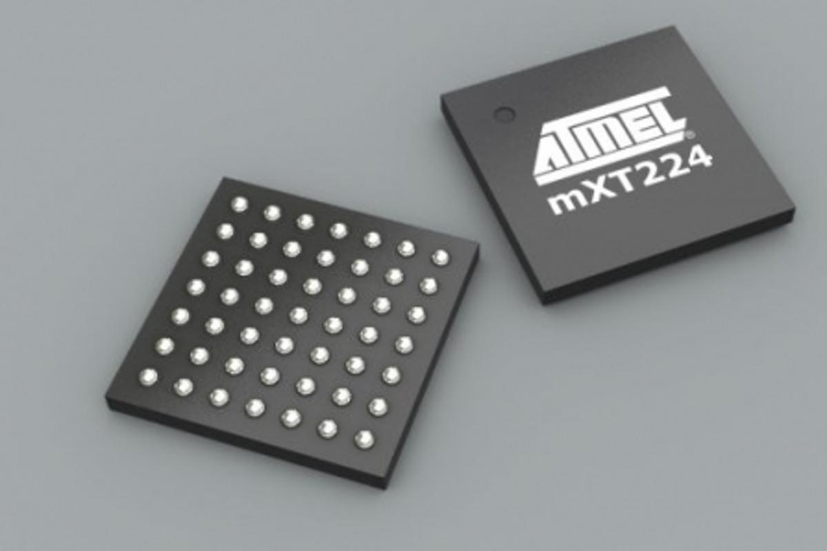 Atmel's new maXTouch mXT224 touchscreen controller chip