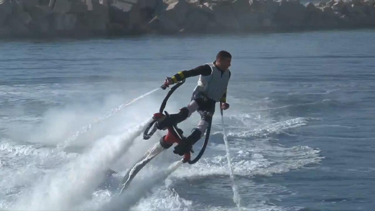 The Zapata Flyboard: Aquaman meets Iron Man