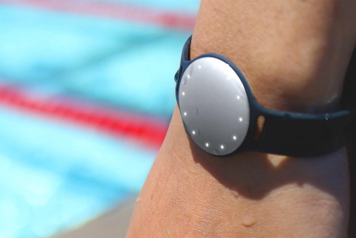 Misfit's new tracker works well in the water