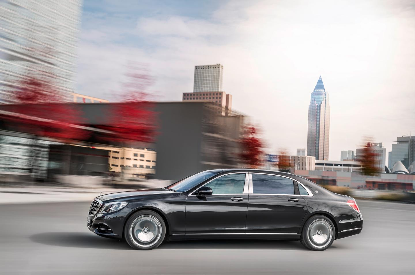 The Mercedes-Maybach S-class premières in February