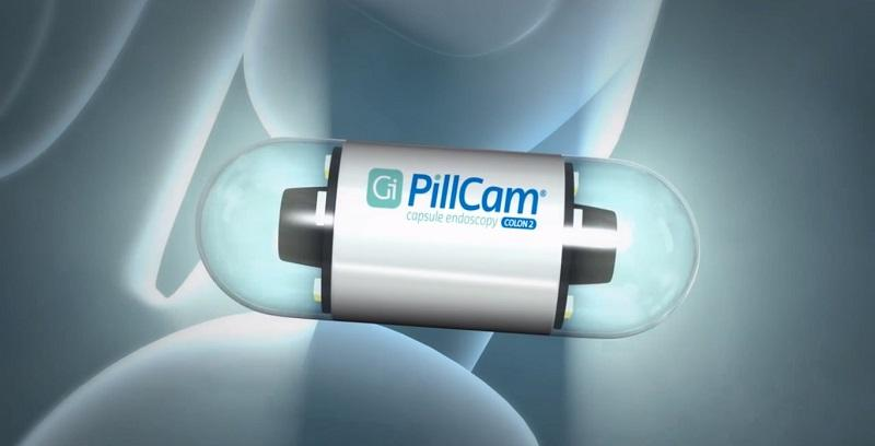 The PillCam Colon has been approved for us in the US by the FDA