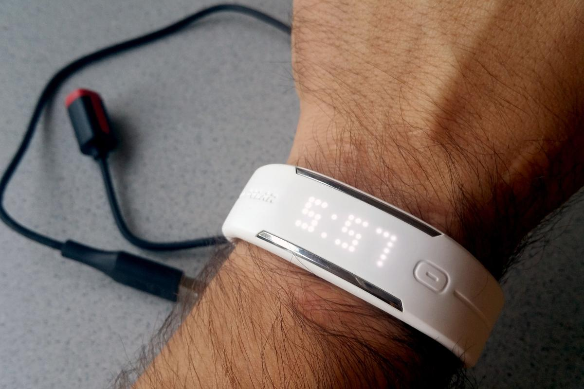 The Polar Loop 2 activity tracker looks simple with a touch of style