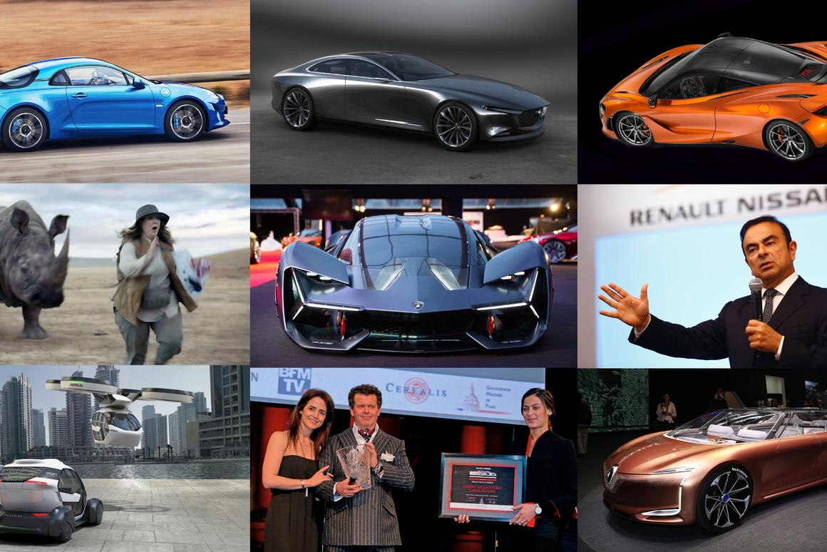 The winners of the33rd Festival Automobile International have been announced