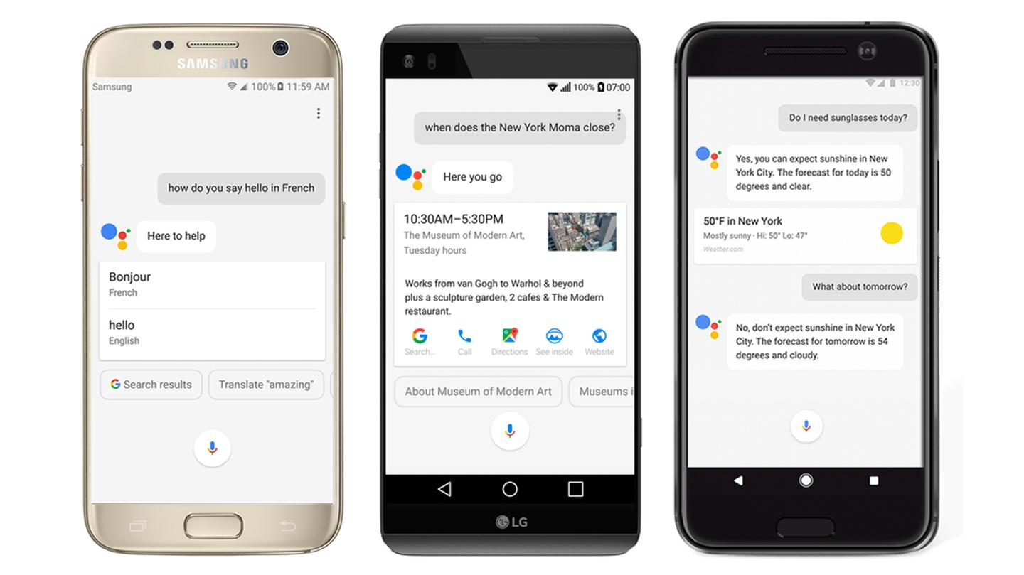 Google Assistant is rolling out to all eligible phones with Android 6.0 Marshmallow and higher