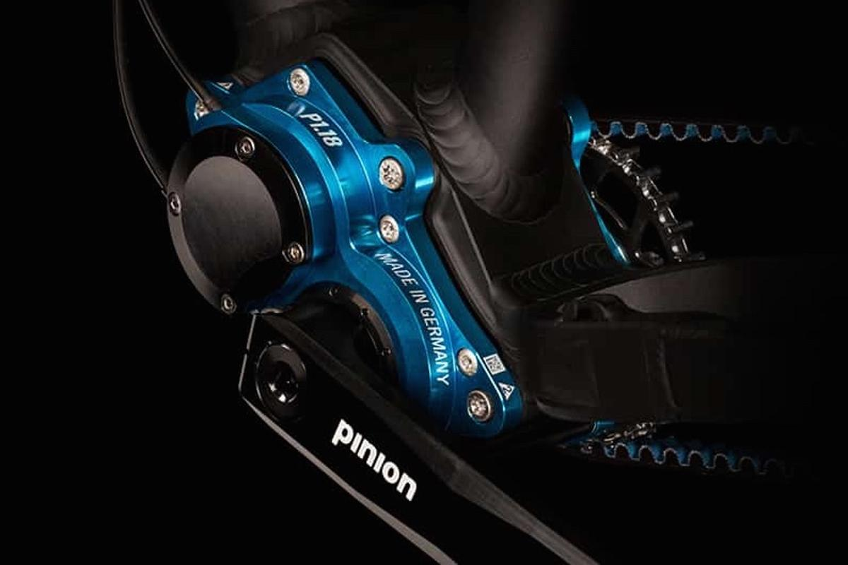 The Pinion P1.18 sealed gearbox for bikes is an alternative to derailleurs or hub transmissions