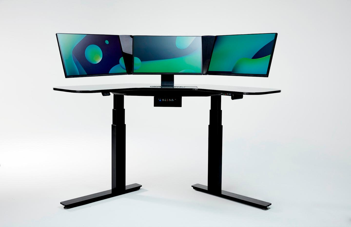 Cemtrex's SmartDesk can be used as a sitting or standing desk