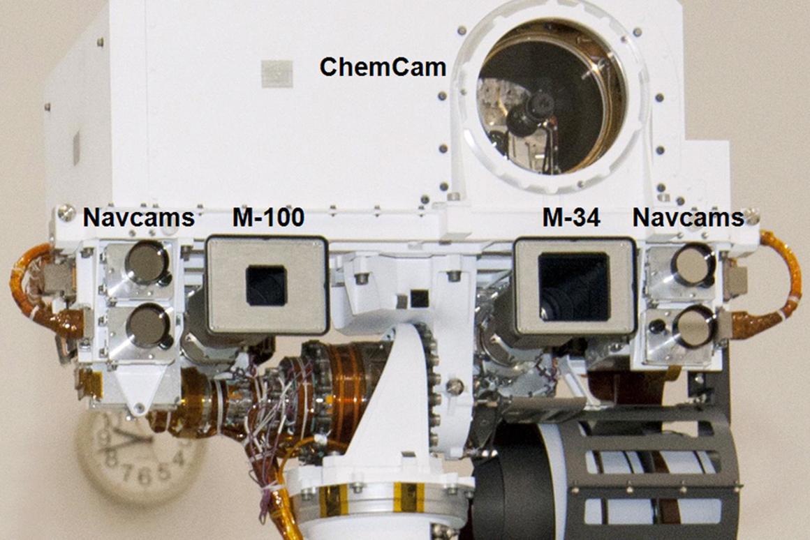 Details of ChemCam (Image: NASA/JPL-Caltech/LANL)