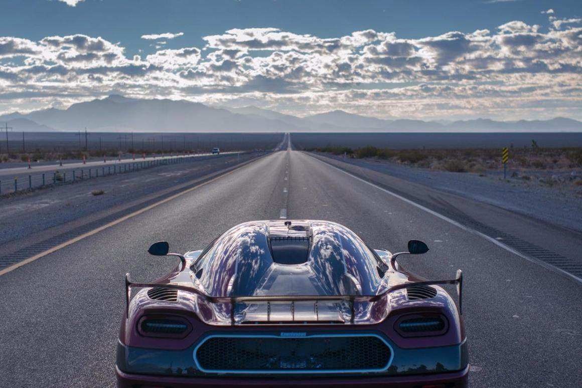 Koenigsegg's Agera RS set a new land speed record for a production vehicle over the weekend