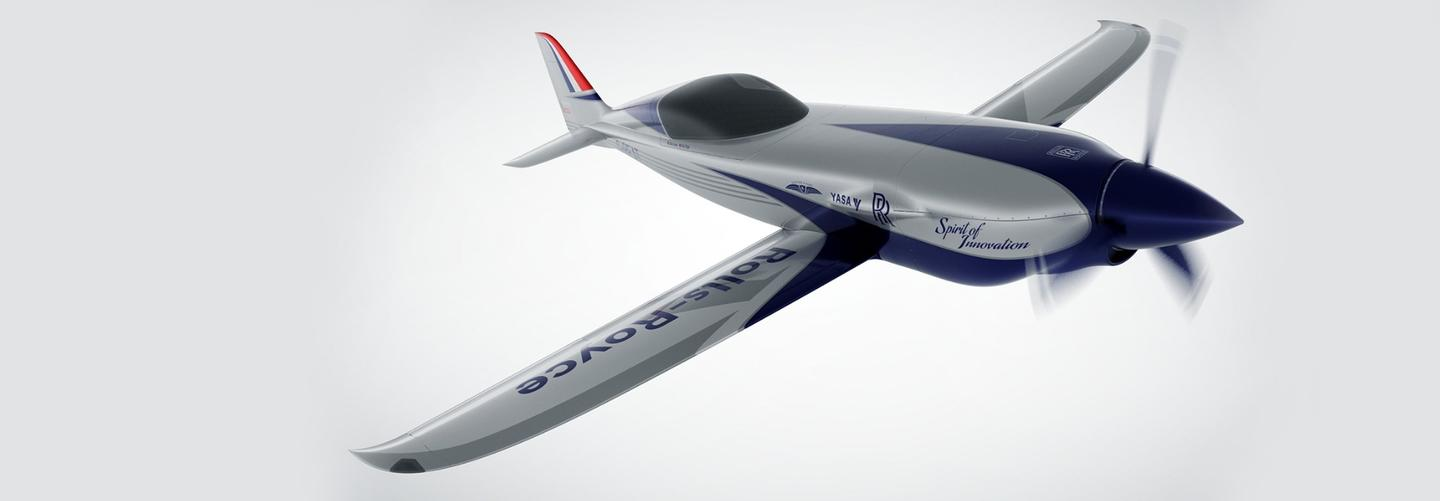 The electric aircraft will fly at over 300 mph (480 km/h)
