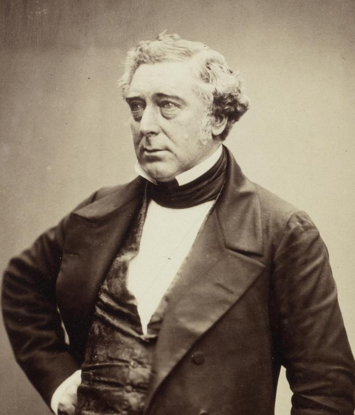 Robert pictured in 1856