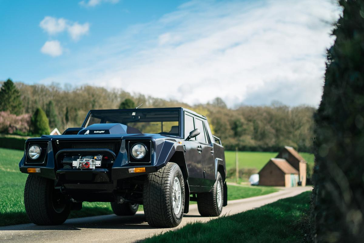 Bell Sport & Classic reveals the restored Lamborghini LM002, chassis no. 40