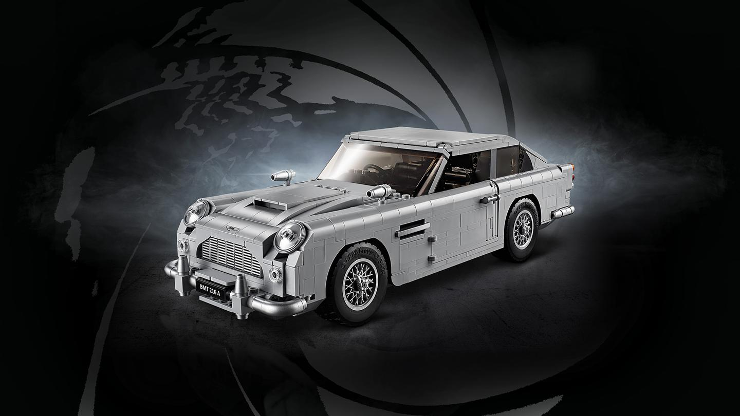 Build a piece of James Bond history with the Lego Aston MartinDB5